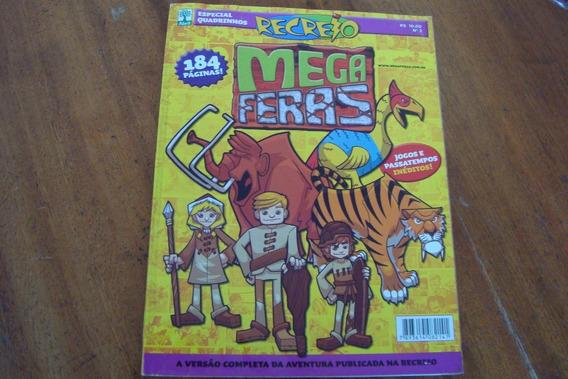 Qgb Gibi Abril Recreio Especial Quadrinhos 2 / Mega Feras