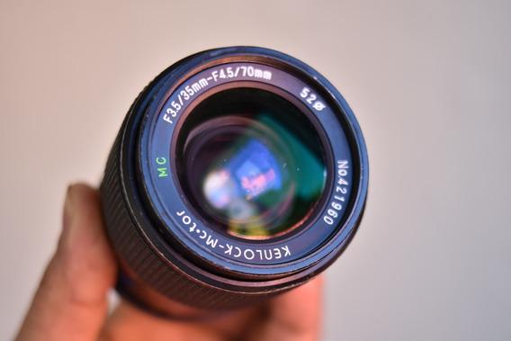 Pentax K 1000 Câmera E A Lente 35-70mm