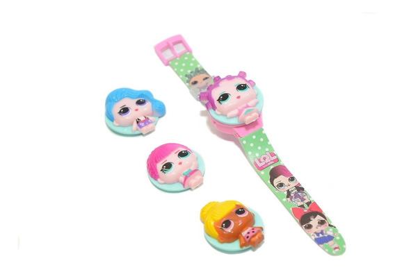 Relógio Infantil Elsa Frozen Disney Rosa Lol Princesas