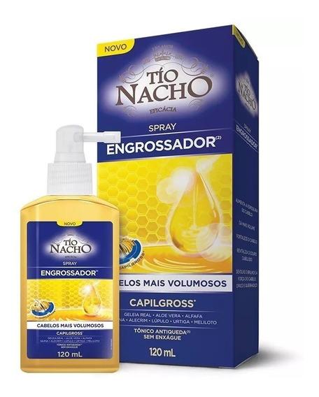 Tio Nacho Engrossador Spray Tônico Capilgross - Lançamento