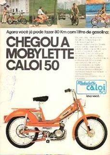 Mobilete Caloi - Estudo Troca