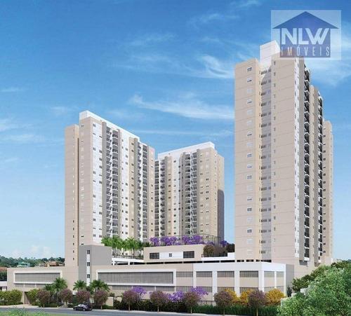 Apartamento Com 2 Dormitórios À Venda, 53 M² Por R$ 515.820,00 - Jardim Bussocaba City - Osasco/sp - Ap1764