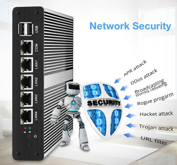 Appliance Firewall Pfsense/endian/sophos 4gb 32gb Ssd