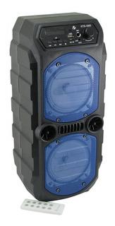 Parlante Portatil Karaoke Bluetooth Potenciado Kts 4 X2
