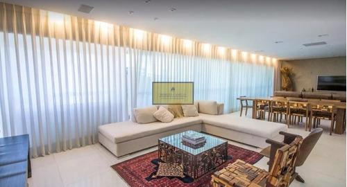 Excelente Apartamento Com 315m, 4 Suítes E Lazer Completo! - 4095