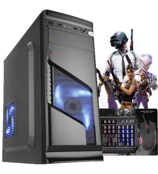 Pc Gamer Completo 4gb Ssd 240gb + Jogos De Brinde