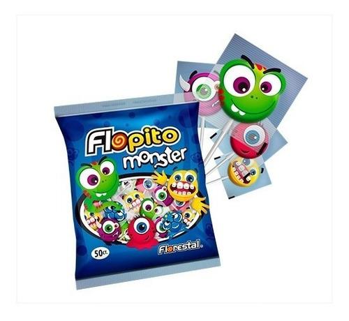Chupetin Flopito Monster X 50 U - Lollipop