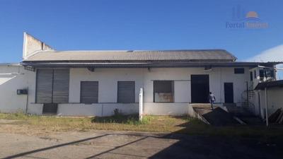 Galpão depósito armazém 2700m² Em Terreno De 5.000m² Na Br116 Com Pé Direito Alto, Messejana, Fortaleza. - Ga0076