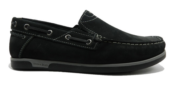 Zapatos Storkman Joaquin Cuero Nobuck 1010
