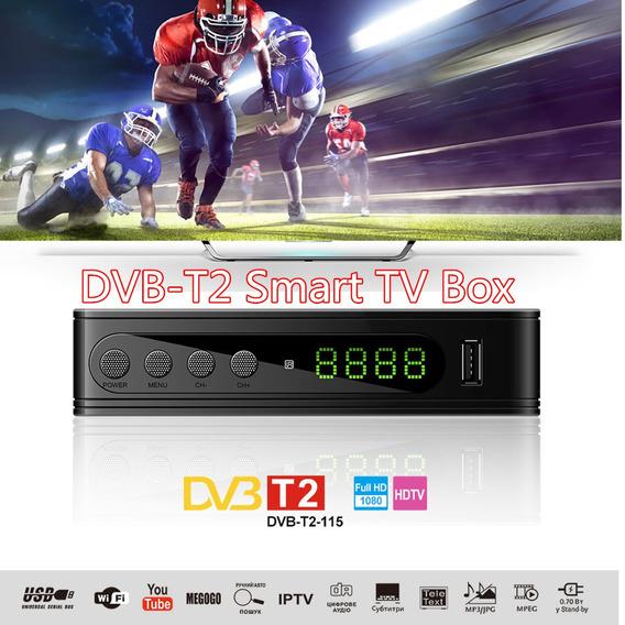 Dvb-t2 115 Mini 1080 P Full Hd Usb Wifi Iptv Digital Tv Set-