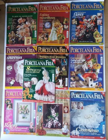 Porcelana Fria, Ilustrada Técnica Passo A Passo 10 Revista
