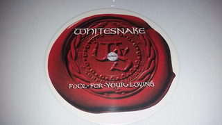 Whitesnake Fool For Your Loving Vinilo Blanco Uk Limited Hit