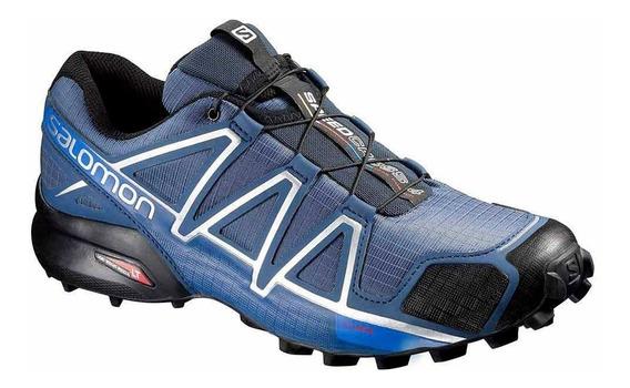 Tênis Salomon Original Speedcross 4 Masculino Azul