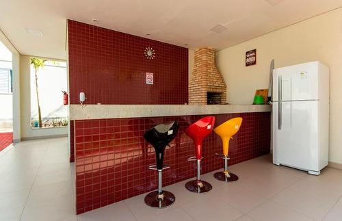 Apartamento Em Jardim São Francisco, Piracicaba/sp De 44m² 2 Quartos À Venda Por R$ 170.000,00 - Ap1012462