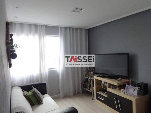 Apartamento Com 2 Dormitórios À Venda, 60 M² Por R$ 370.000,00 - Sacomã - São Paulo/sp - Ap7136