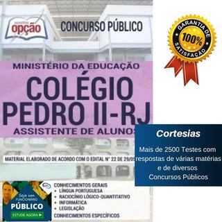 Apostila Colégio Pedro 2 - Assistente De Alunos