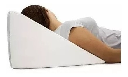 Almofada Descanso Encosto Triangular Leitura Tv