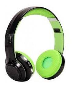 Fone De Ouvido Bluetooth 4.2 Hi-fi/fm Com Bateria Litio Novo