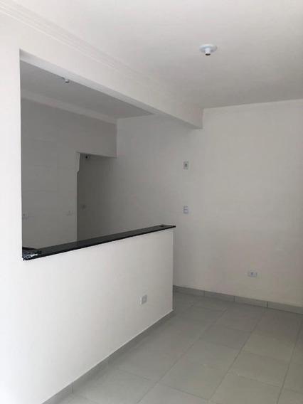 Casa Em Jardim Melvi, Praia Grande/sp De 44m² 1 Quartos À Venda Por R$ 135.000,00 - Ca170336