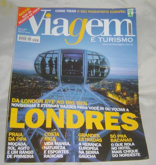 Revista Viagem E Turismo - Edição 67 - Maio/2001.