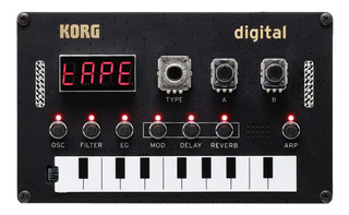 Sintetizador Digital Programable Diy Korg Nts1