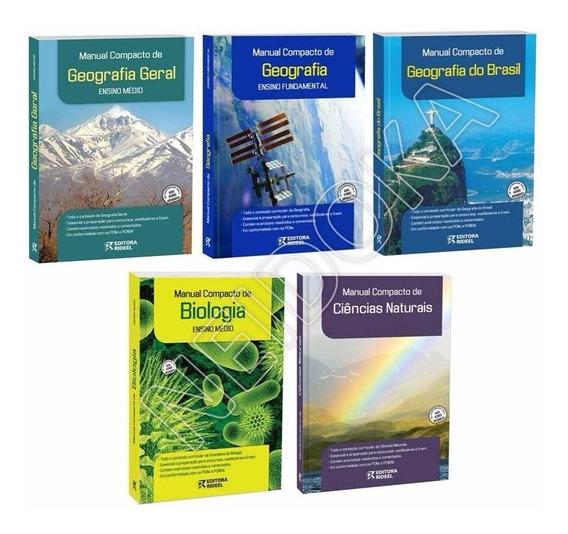 9 Livros Manual Compacto A Sua Escolha - Matemática Física