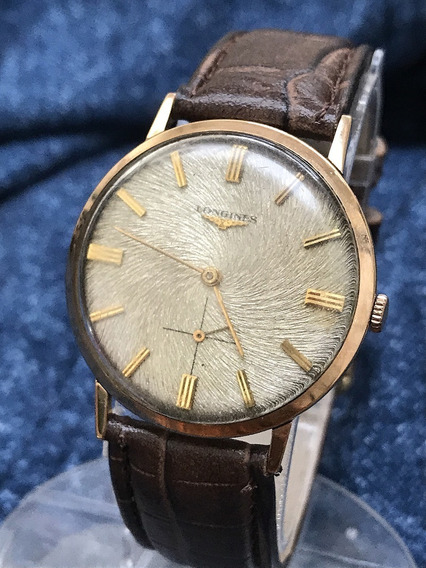 Relógio Ouro 18k Maciço Nivel Omega Longines Luxo, Magnífico