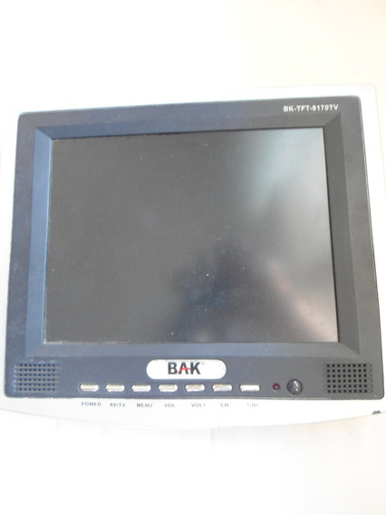 Tev Televisão Portatil Bak Carro Van Onibus Acampamento