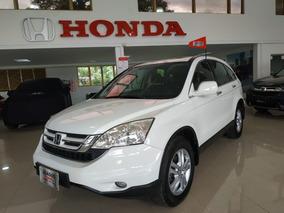 Honda Cr-v Ex Modelo 2010 Blanco Taffeta