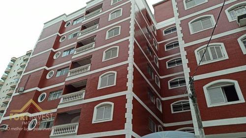 Imagem 1 de 25 de Apartamento Com 1 Dormitório À Venda, 50 M² Por R$ 180.000,00 - Tupi - Praia Grande/sp - Ap2142