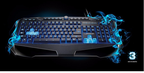 Teclado Warrior Gamer Tc167 - Multilaser