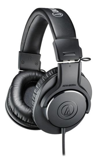 Fone De Ouvido Audio Technica Headset Ath-m20x M-series