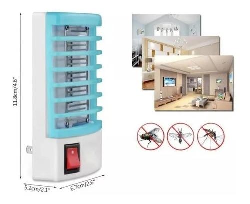 Luminária Armadilha Lâmpada Elétrica Mata Mosquito,inseto