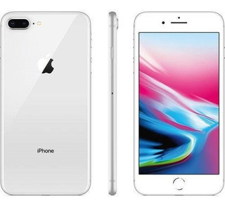 Apple iPhone 8 Plus Prata, 256gb, Camera 12mp, Lacrado