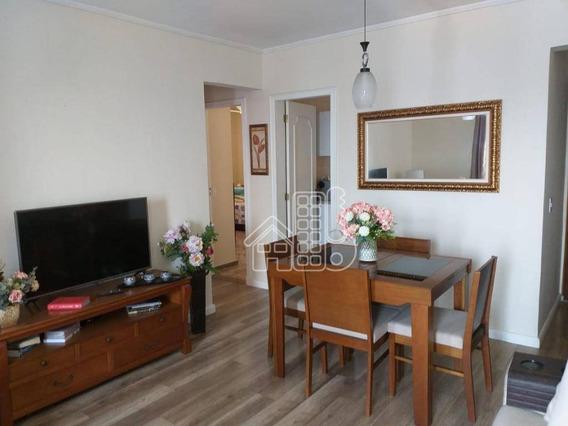 Apartamento Com 2 Dormitórios À Venda, 95 M² Por R$ 235.000,00 - Alcântara - São Gonçalo/rj - Ap3000