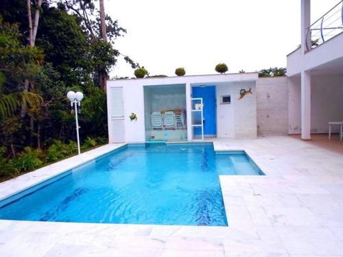 Casa Com 7 Dormitórios À Venda, 455 M² - Riviera De São Lourenço - Bertioga/sp - Ca3189