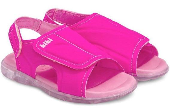 Sandália Infantil Bibi Feminina Pink Funny Light