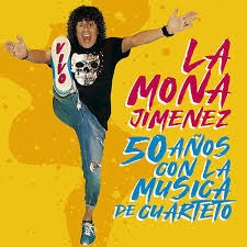La Mona Jimenez 50 Años Con La Musica De Cuarteto Cd Nuevo