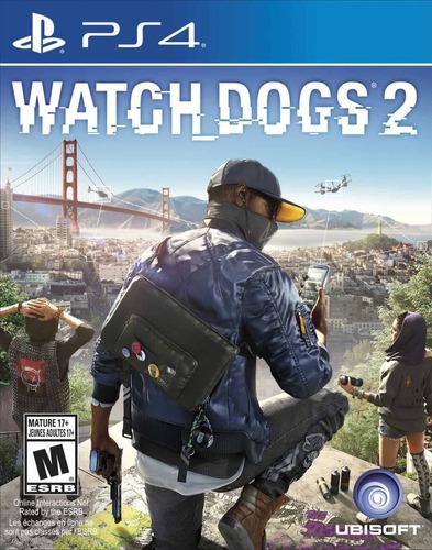 Imagen 1 de 1 de Watch Dogs 2 - Físico Ps4