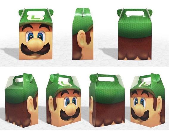 35 Cajas , Dulceros . Mario Bross Y Luigi