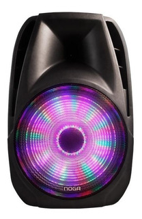 Parlante Bluetooth Karaoke Portatil Noga Sp6110 + Microfono