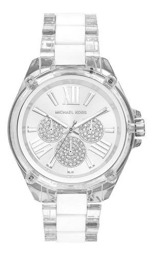 Relógio Michael Kors Wren Feminino Branco Mk6675/1bn