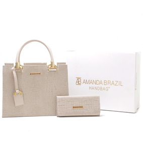 Bolsa Amanda Brazil Material Original + Alca Lateral