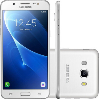 Smartphone Samsung J510 Galaxy J5 Metal 2016 16gb   Vitrine