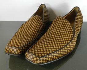 Zapatos Nuevos Caballero Auténticos Louis Vuitton Damier Fra