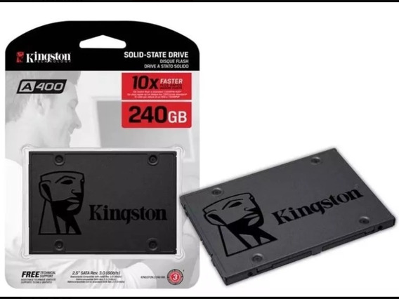 Hd Ssd Kingston Sata 3 A400 2,5 Lacrado