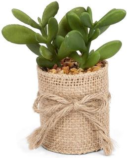 Plantas Artificiales Decorativas Pequeñas Minimalistas 4 Pz