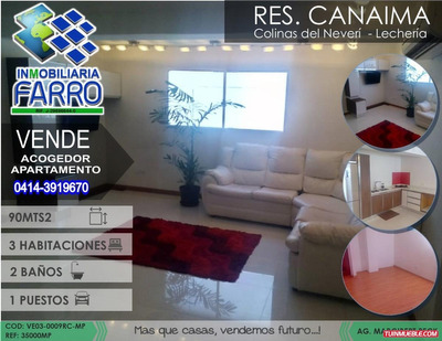 Venta De Apto En Res. Canaima Lecheria Ve03-0009rc-mp