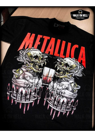 Metallica - Remera Envios Todo País - James Hetfield
