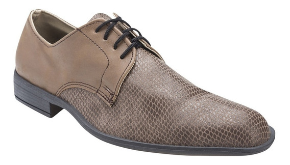 Zapatos Vivora Moda Vestir Hombre Eco Cuero Reptil Importado